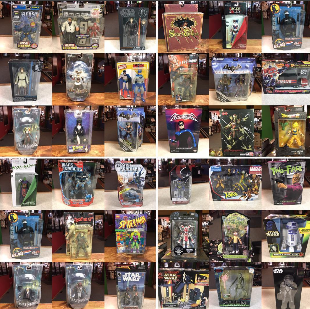 Kokomo Toys eBay Store Update – New Arrivals On Vintage Marvel Legends, DC & More