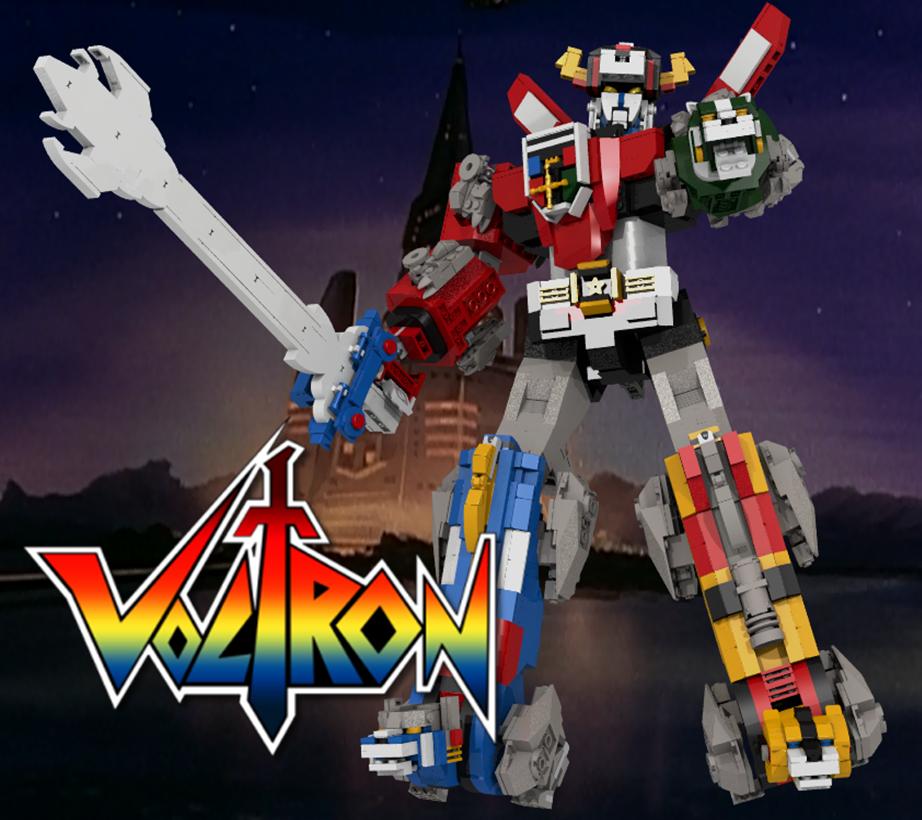 LEGO Ideas Announces Voltron – Defender Of The Universe Transformable Set