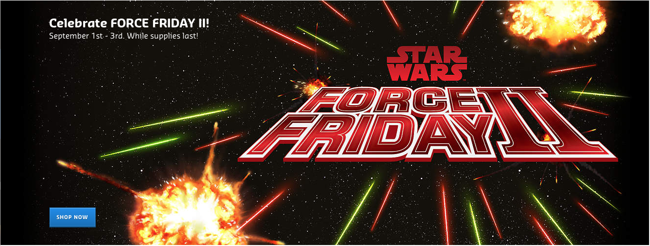 LEGO Shop Gets Ready For Force Friday With A Free Star Wars Scarif Stormtrooper With Purchase