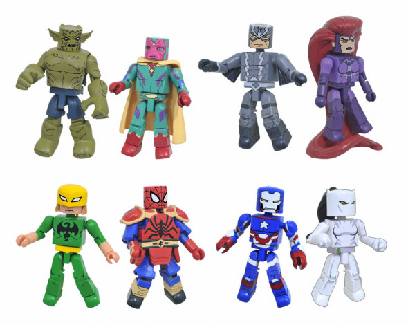 Marvel Animated Minimates Series 6 Revealed; Series 5 Now Available At Walgreens