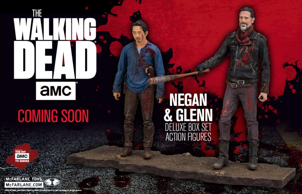 McFarlane Toys The Walking Dead Negan & Glenn Deluxe Box Set 2-Pack Available Now