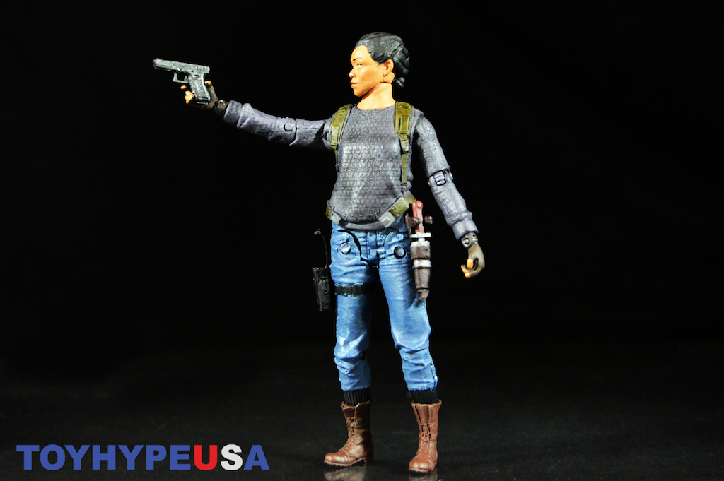 McFarlane Toys The Walking Dead Walgreens Exclusive 5″ Sasha Figure Review