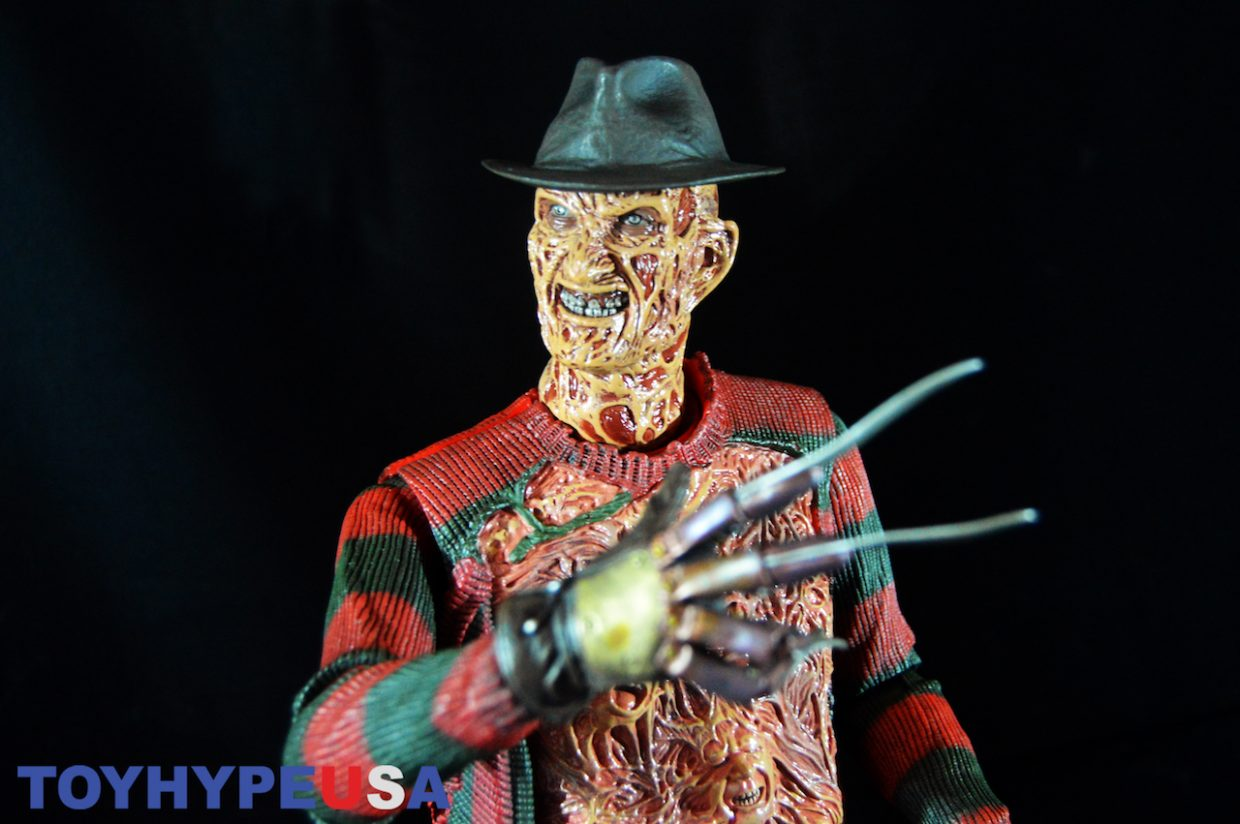 NECA Toys A Nightmare On Elm Street – Dream Warrior Freddy – 1/4″ Scale Figure Review