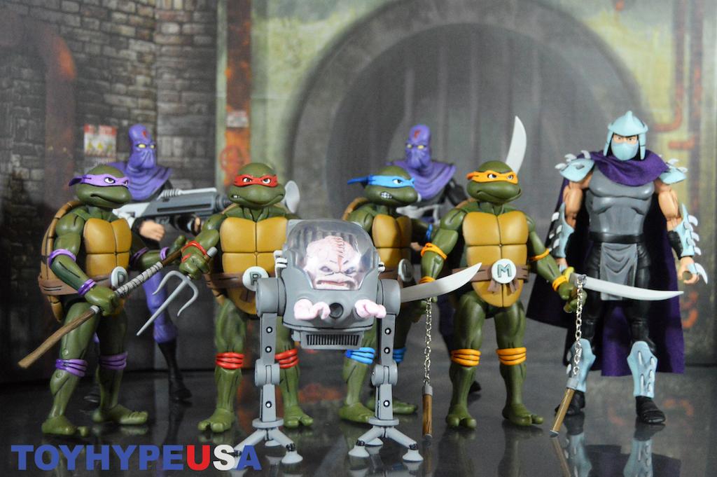 NECA Toys SDCC 2017 Exclusive Teenage Mutant Ninja Turtles Box Set Review