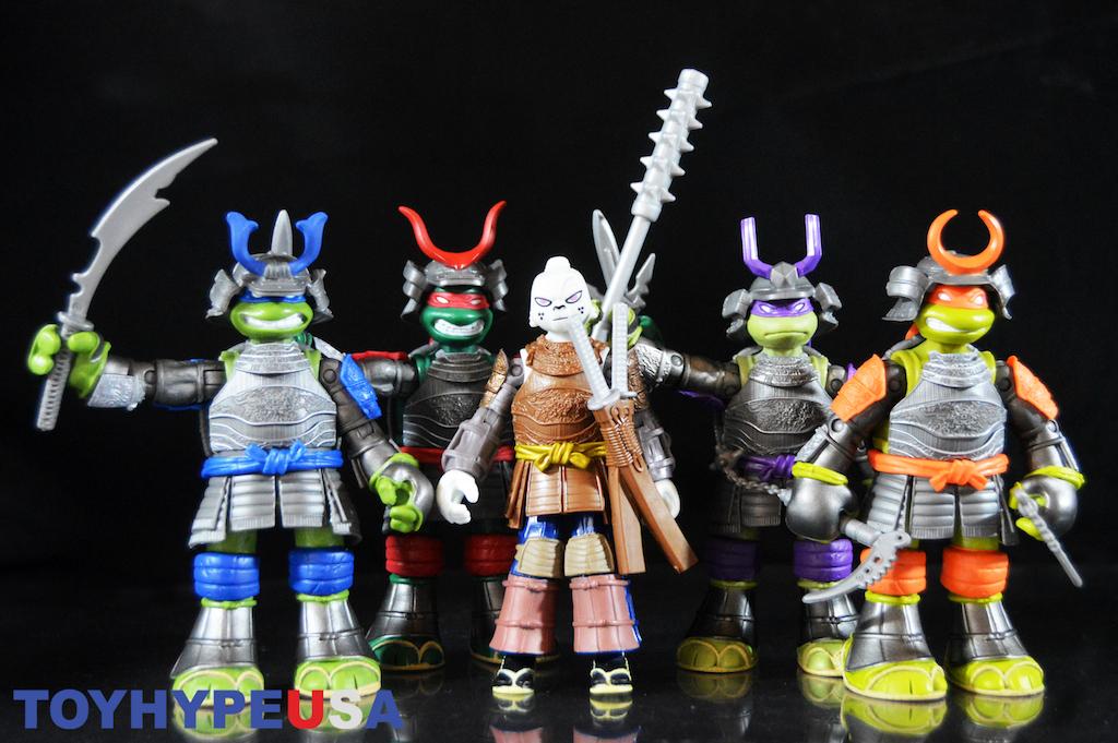 Playmates Toys Teenage Mutant Ninja Turtles Samurai Usagi Yojimbo & Samurai Turtles Figures Review