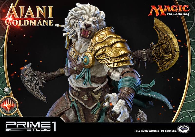 Prime 1 Studio Magic: The Gathering Ajani Goldmane Statue Pre-Orders
