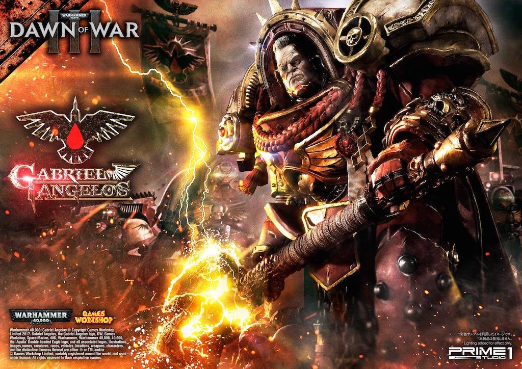 Prime 1 Studio Warhammer 40,000 Dawn Of War III – Gabriel Angelos Statue