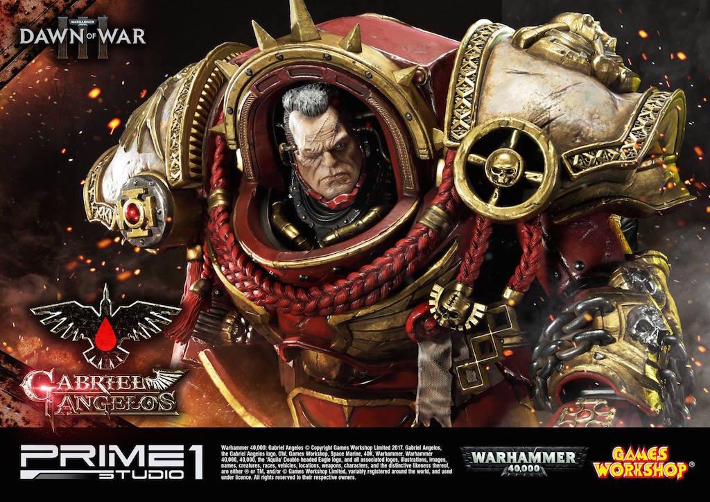Prime 1 Studio Warhammer 40,000 Dawn Of War III – Gabriel Angelos Statue Pre-Order