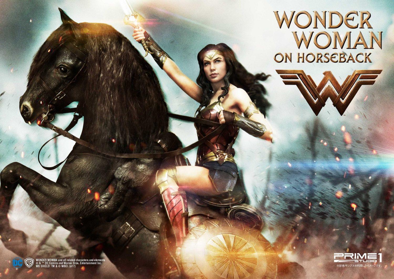 Prime 1 Studio Wonder Woman On Horseback Statue