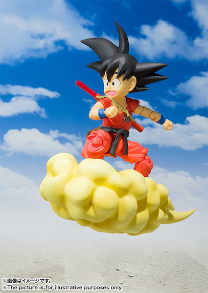 S.H. Figuarts Dragon Ball Z Kid Goku Figure Official Product Details & Images