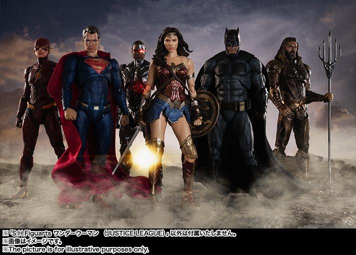 S.H. Figuarts Justice League Wonder Woman Figure