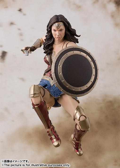 S.H. Figuarts Justice League Wonder Woman Figure Pre-Orders