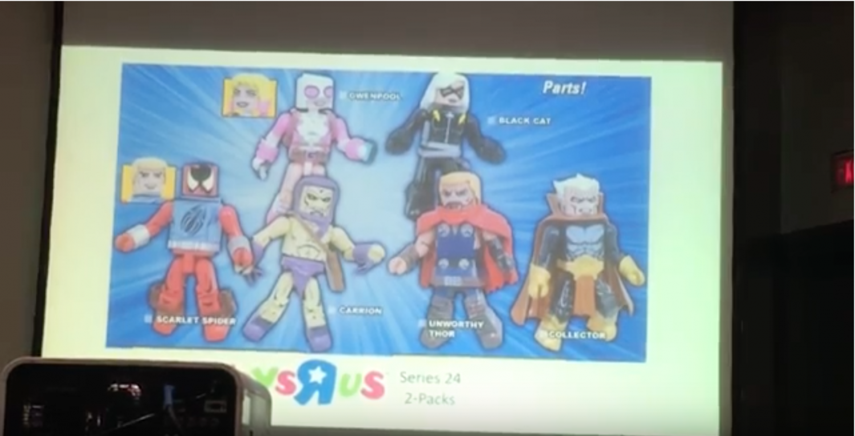 SDCC 2017 Diamond Select Toys Minimates Panel Video Coverage