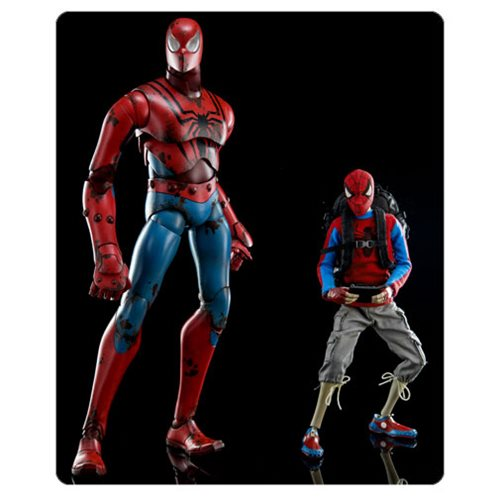 Spider-Man Peter Parker By Ashley Wood Sixth Scale Figure 2-Pack Now 15% Off On Entertainment Earth