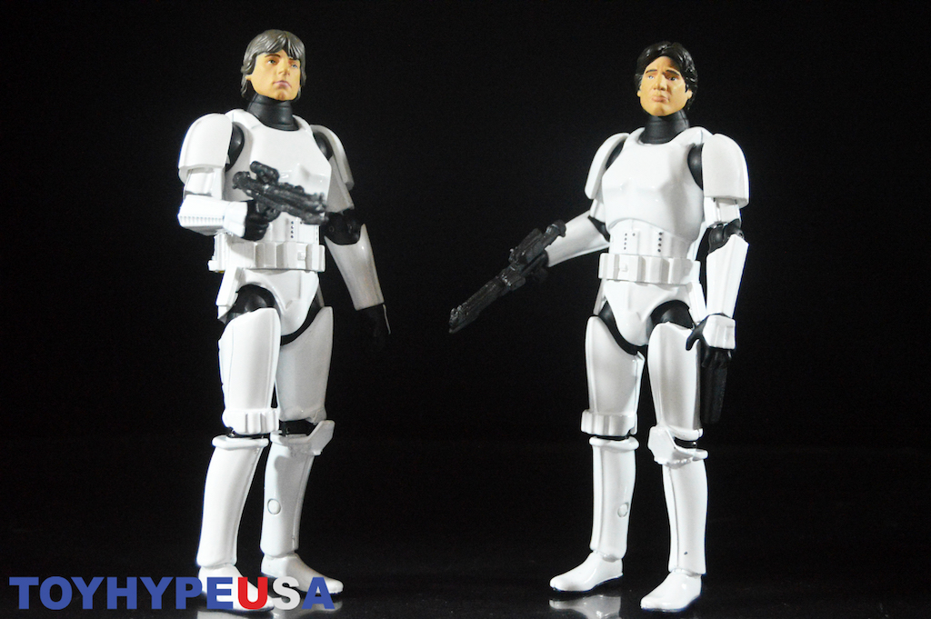 Star Wars 40th Anniversary Han Solo And Luke Skywalker In Stormtrooper Disguise Die-Cast Figures Review