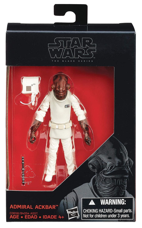 Diamond Comic Distributors To Distribute Hasbro Star Wars The Black Series 3 3/4″ Figures