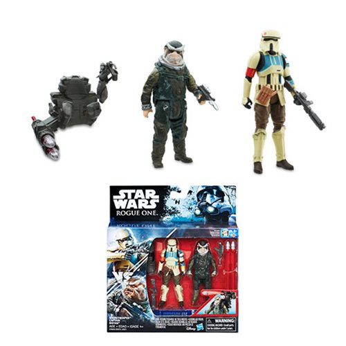Star Wars Rogue One Shoretrooper & Bistan In-Stock On Entertainment Earth