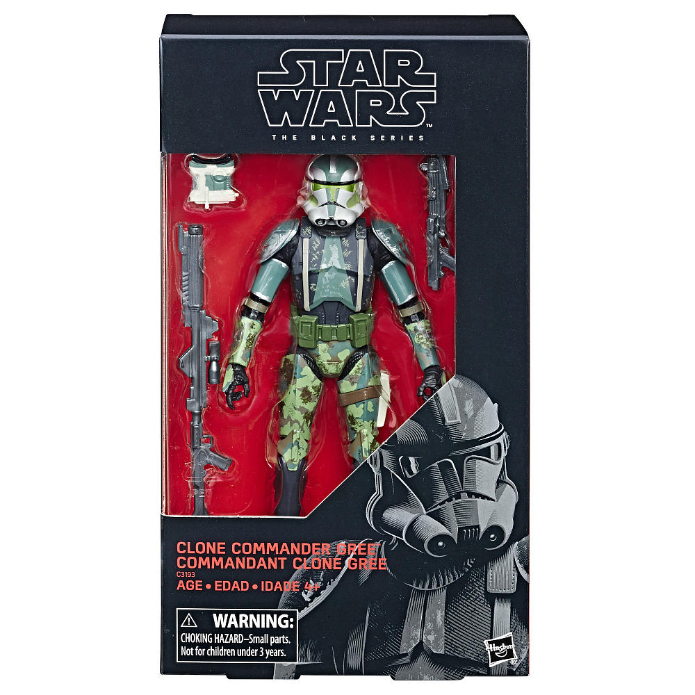 """Star Wars The Black Series 6″ Commander Gree Figure Back In-Stock On Toys """"R"""" Us"""