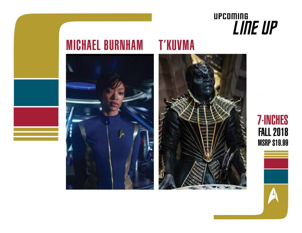 McFarlane Toys Star Trek 2018 Line-Up At Star Trek Las Vegas Convention