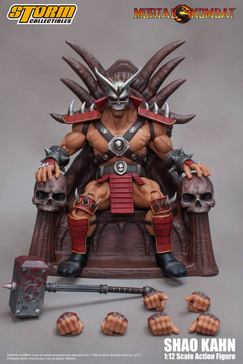 Storm Collectibles Mortal Kombat Shao Kahn 1/12th Scale Figure Pre-Orders