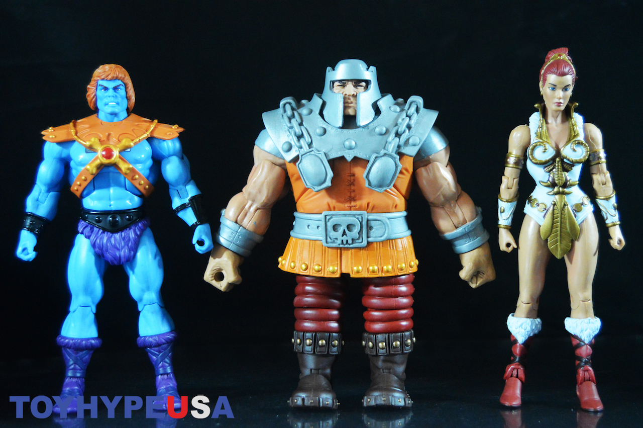 Super 7: Masters Of The Universe Classics Ultimate Edition – Faker, Ram Man & Teela Figures Review