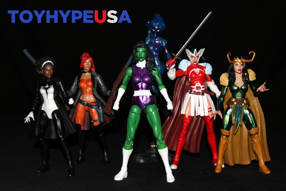 Hasbro SDCC 2017 Toys'R'us Exclusive – Marvel Legends 6″ A-Force Set Review
