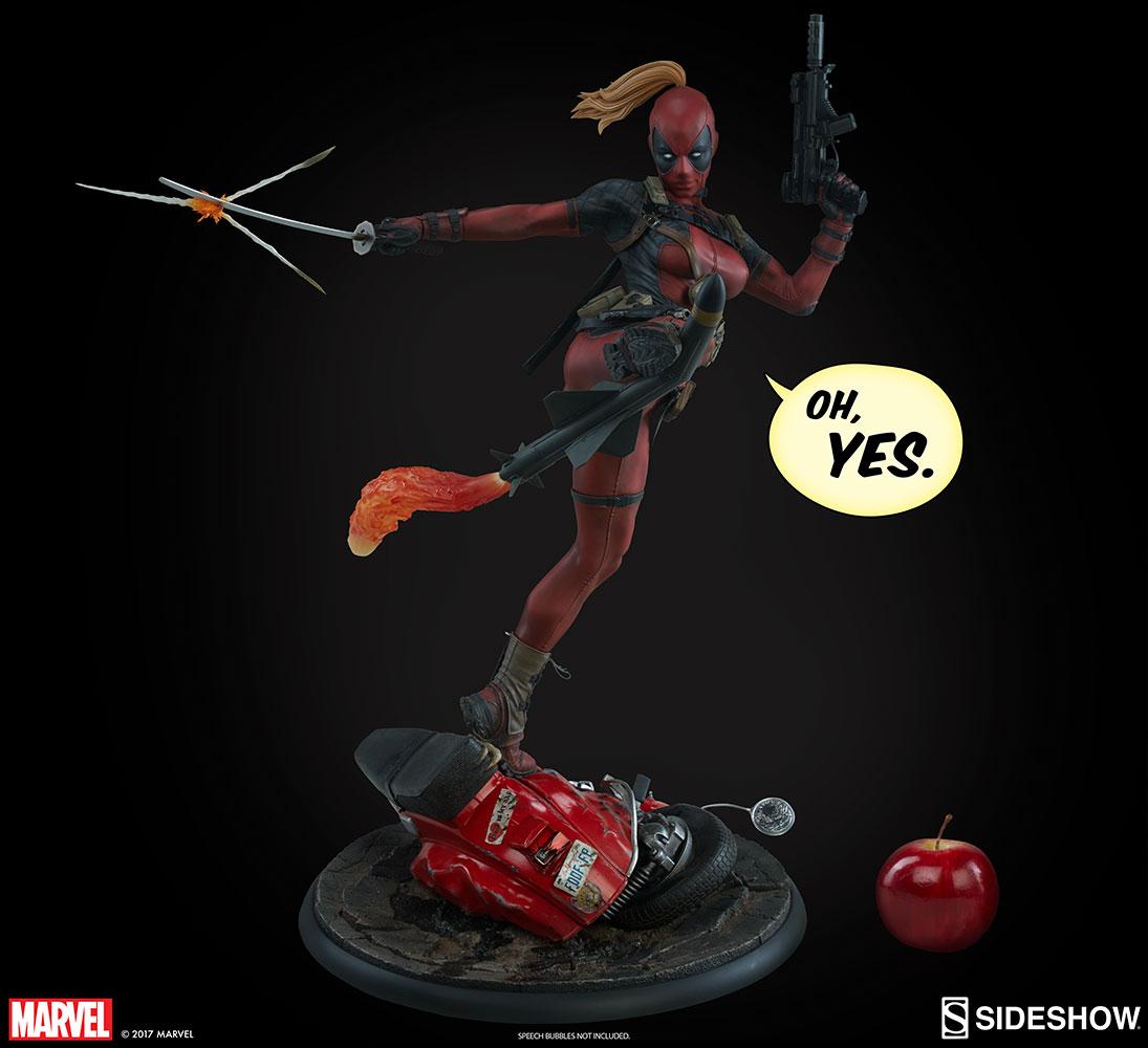 Sideshow Collectibles Lady Deadpool Premium Format Figure Pre-Orders