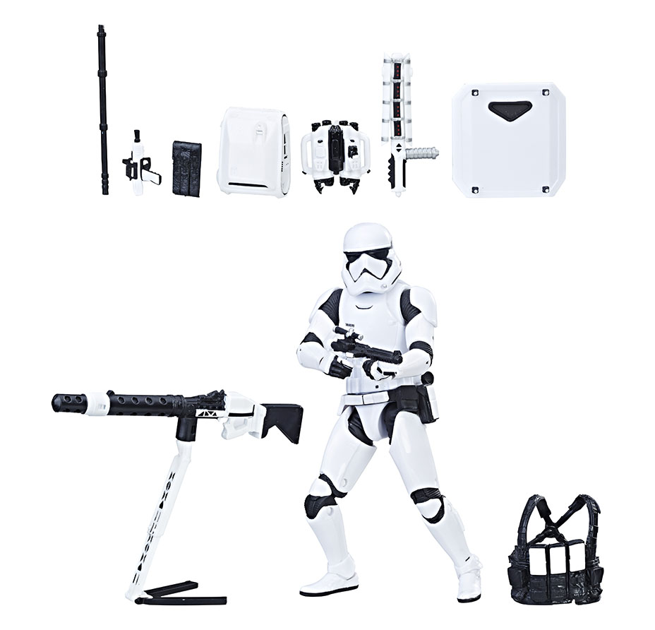Amazon Black Friday 2018 – Star Wars The Black Series First Order Stormtrooper With Gear Now $22