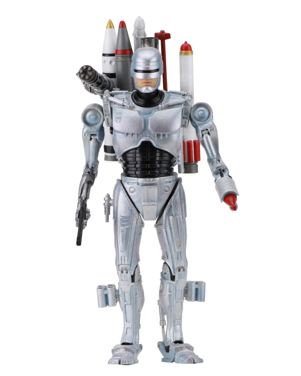 NECA Toys Robocop Vs. The Terminator – 7″ Scale Ultimate Future RoboCop Figure