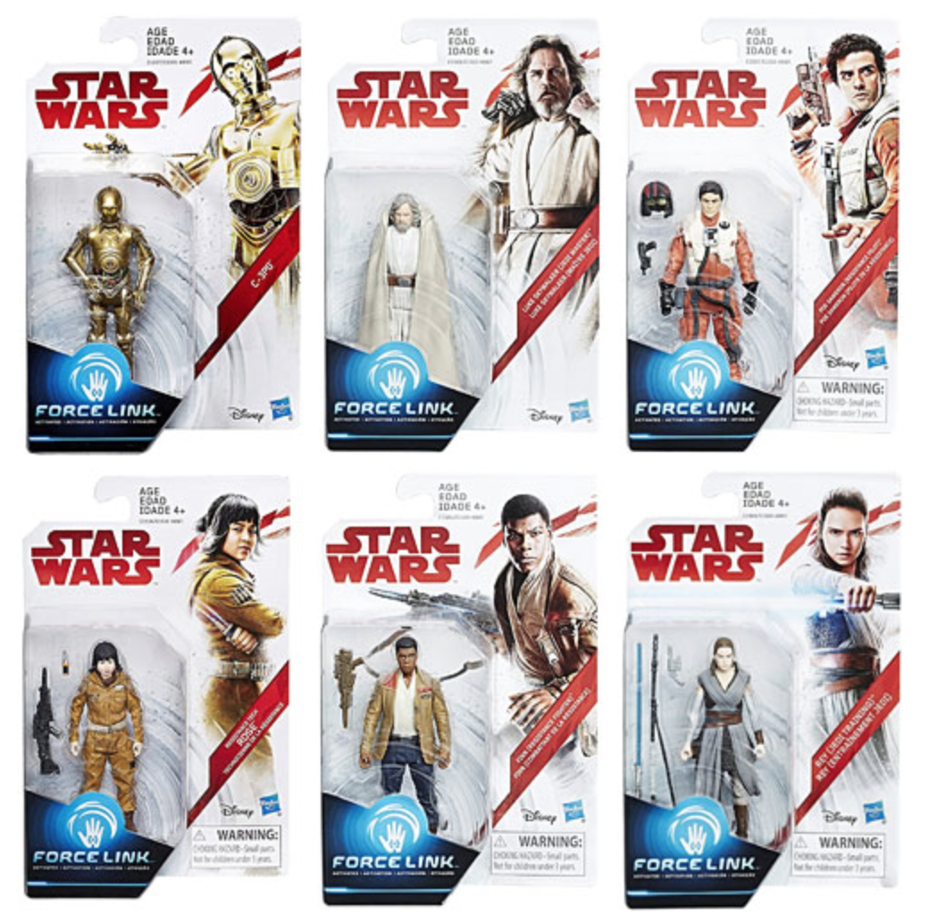 Amazon Lists Star Wars The Last Jedi 3 3/4″ Figures As In-Stock (Update)