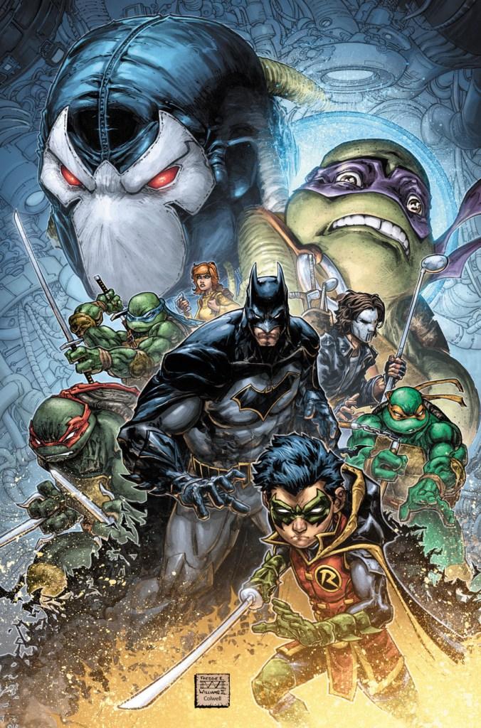 DC Comics & IDW Announce Batman/Teenage Mutant Ninja Turtles Comic Crossover II