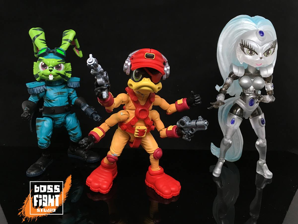 Boss Fight Studio: Bucky O'Hare Wave 2 Figure Pre-Orders