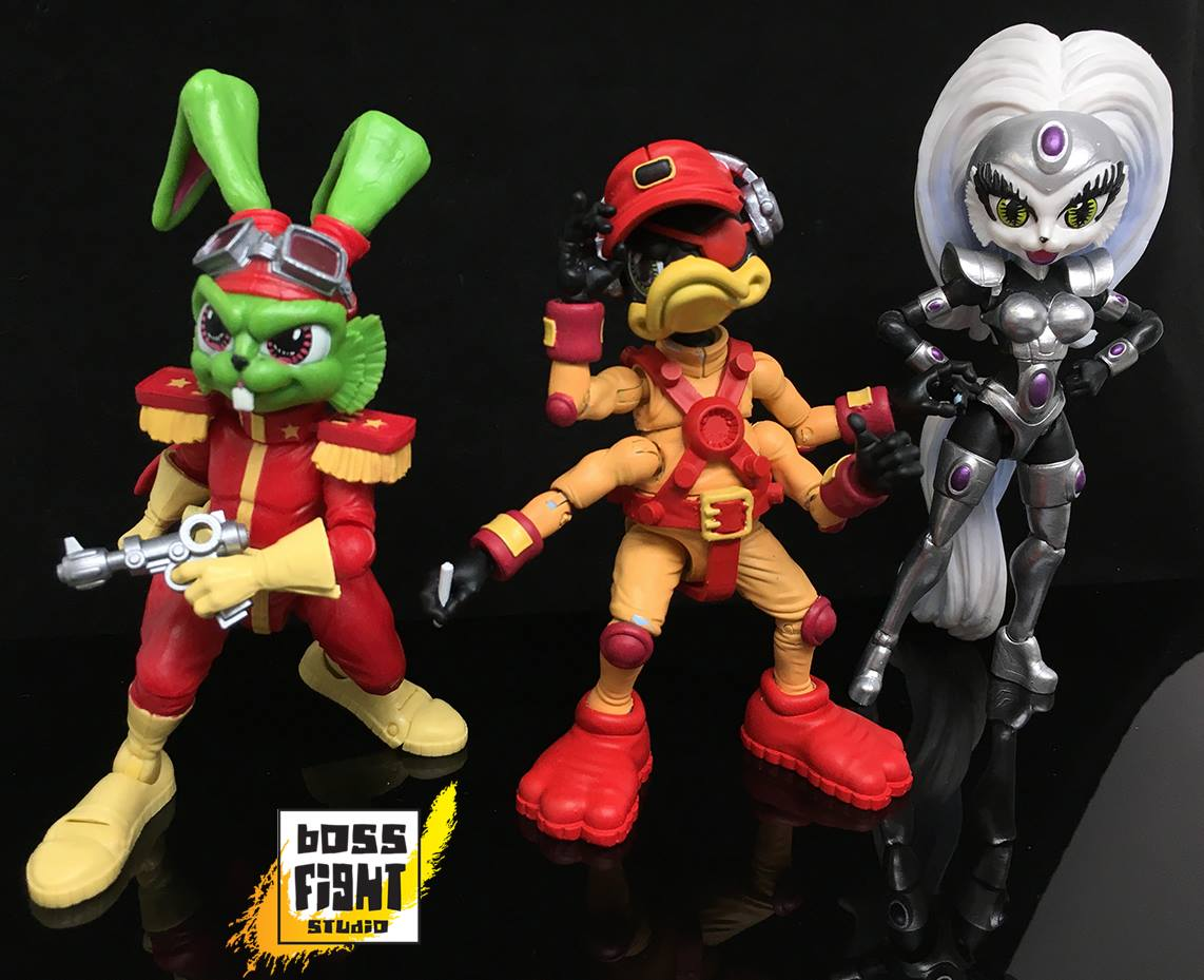 Boss Fight Studio Exclusive Interview On Bucky O'Hare Action Figure Line