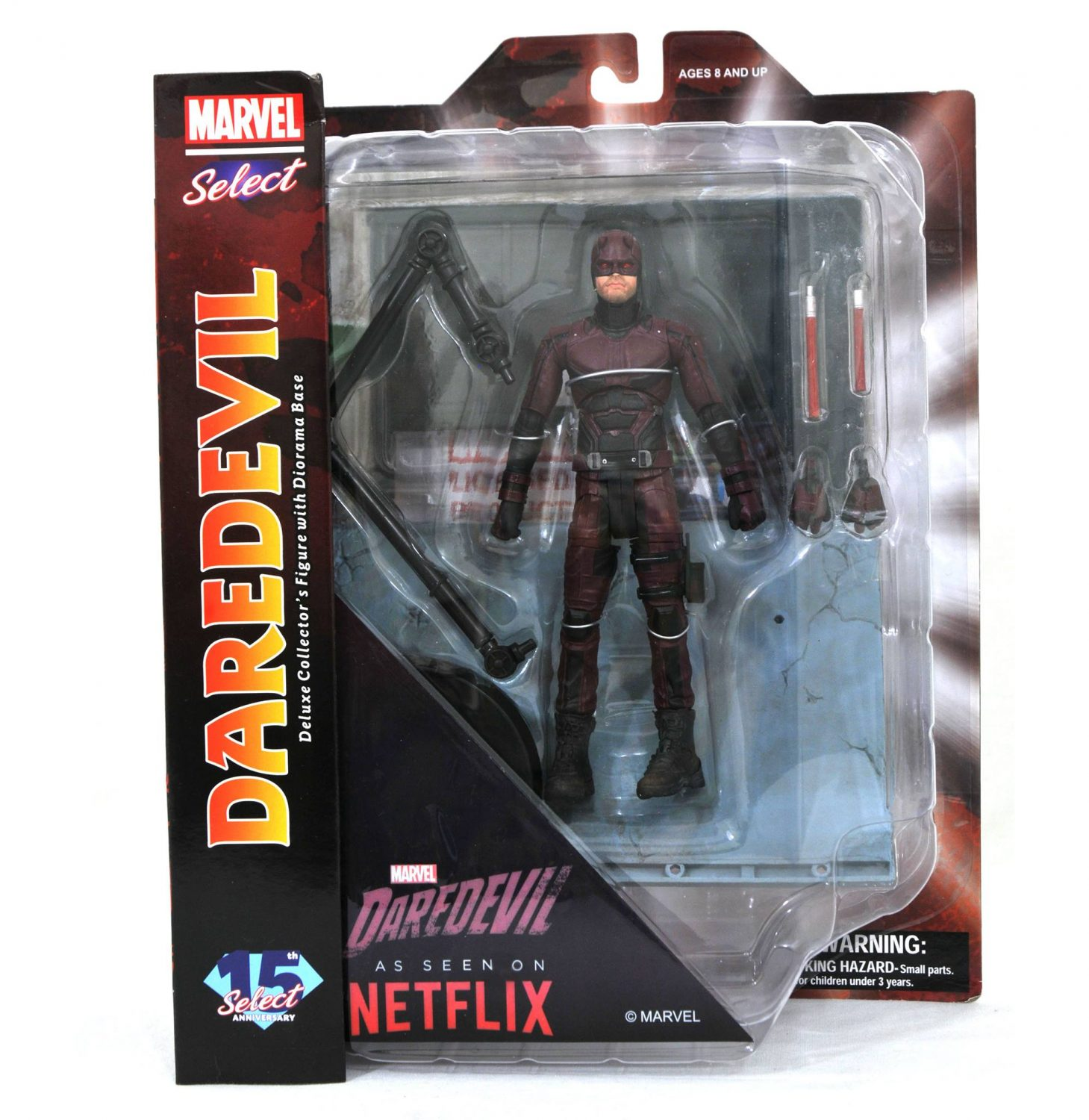 Diamond Select Toys Marvel Select Netflix Daredevil Figure In Packaging