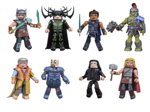 "Thor: Ragnarok Minimates Exclusives At Walgreens & Toys ""R"" Us Now"
