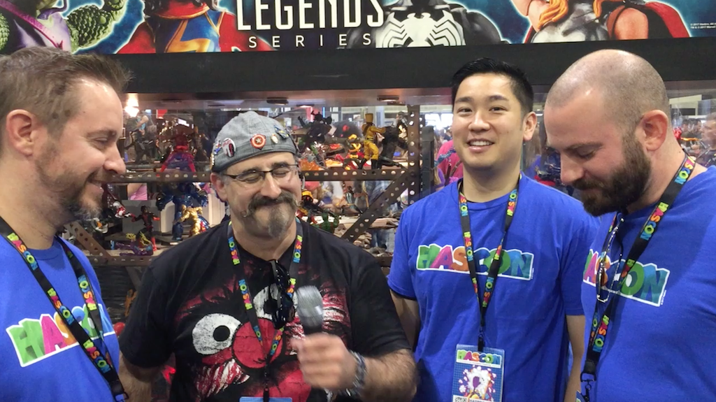 HasCon 2017 – Video Interview With Marvel Legends Brand Team (Update)