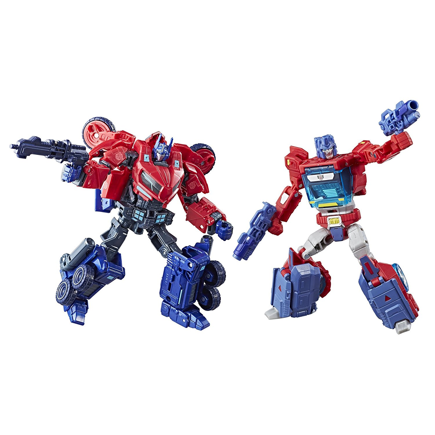 Hasbro Transformers Deluxe Class Optimus Prime Autobot Legacy 2-Pack Restocked On Amazon