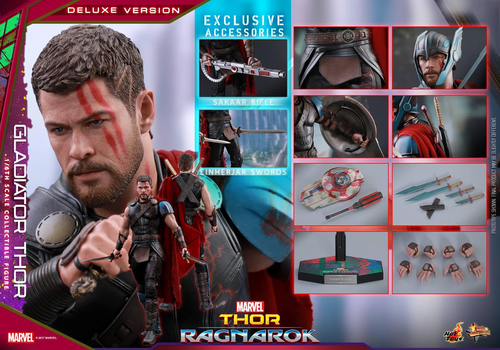 Hot Toys Thor: Ragnarok Gladiator Thor Sixth Scale Figure Pre-Orders