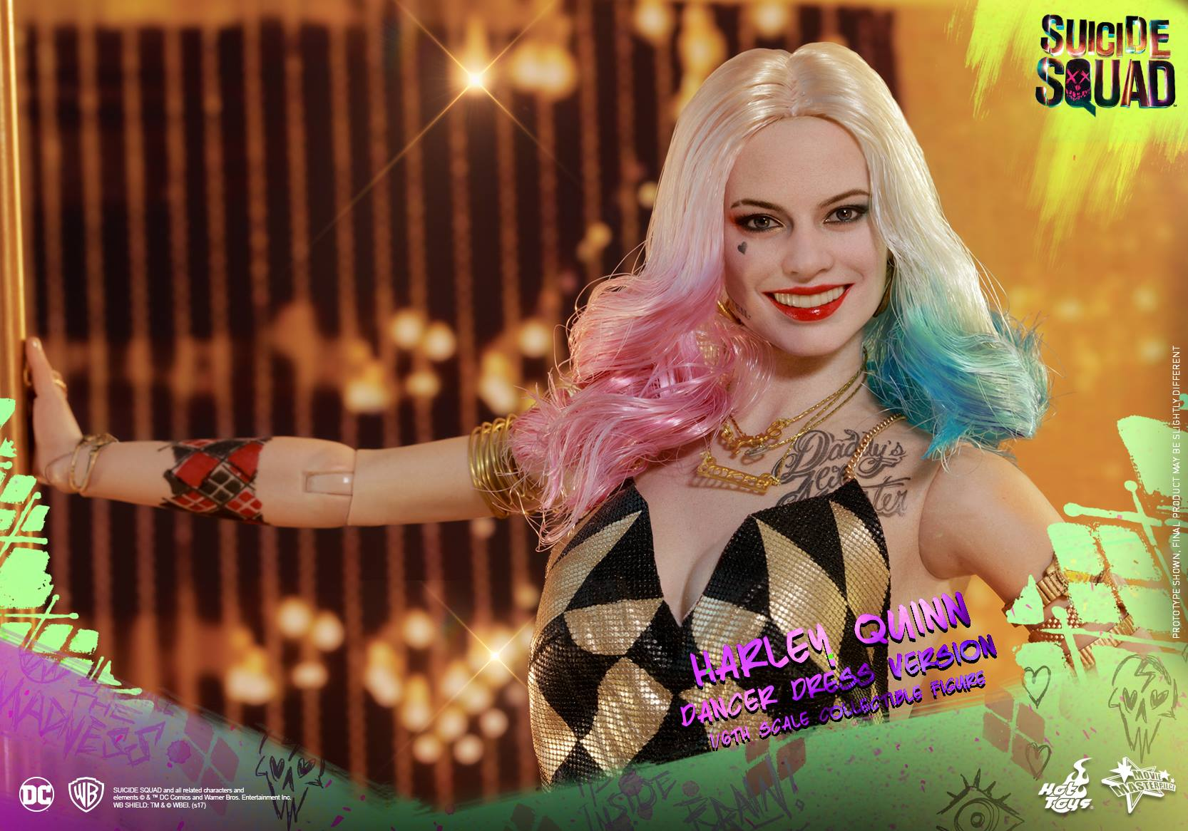 Hot Toys Suicide Squad – Harley Quinn Dancer Dress Version Sixth Scale Figure
