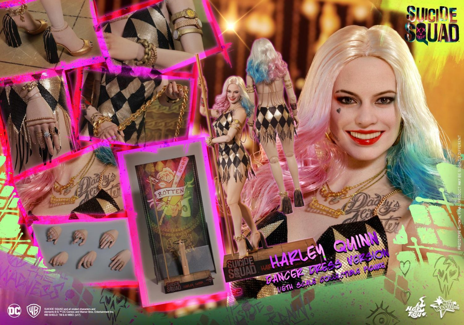Hot Toys Suicide Squad – Harley Quinn Dancer Dress Version Sixth Scale Figure Pre-Orders