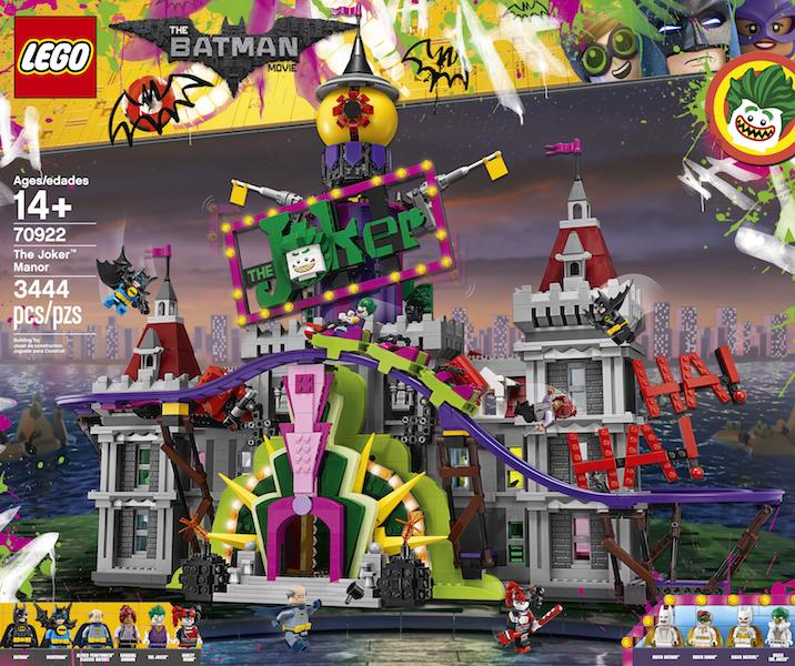 LEGO Batman 70922 The Joker Manor Set On LEGO Shop