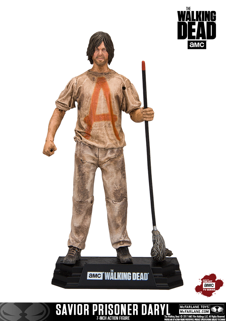 McFarlane Toys The Walking Dead 7″ Savior Prisoner Daryl & Ezekiel Figure Pre-Orders
