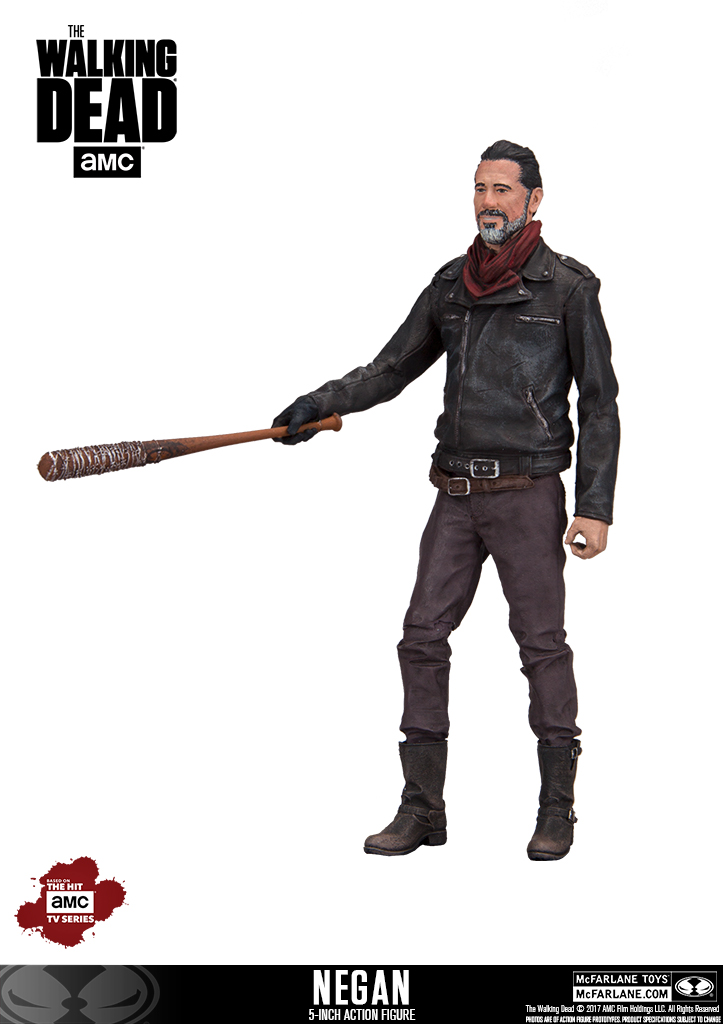 McFarlane Toys The Walking Dead Walgreens Exclusive 5″ Negan Figure