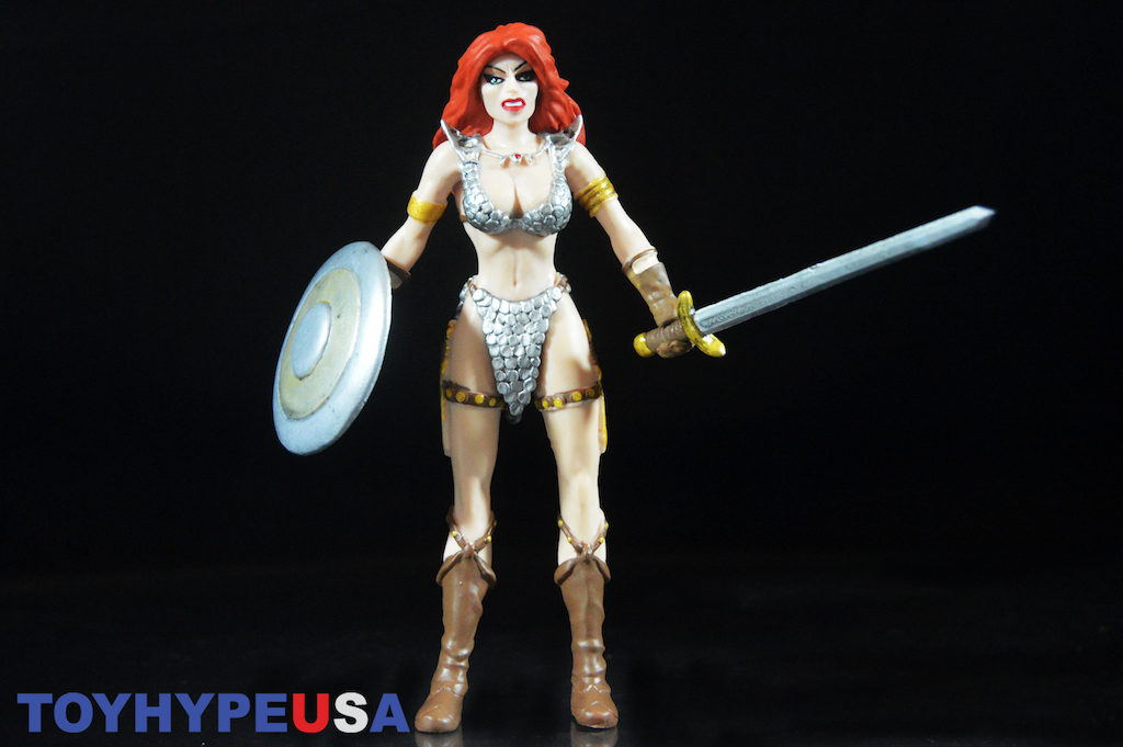 NJ Croce Red Sonja 5 1/2″ Bendable Figure Review