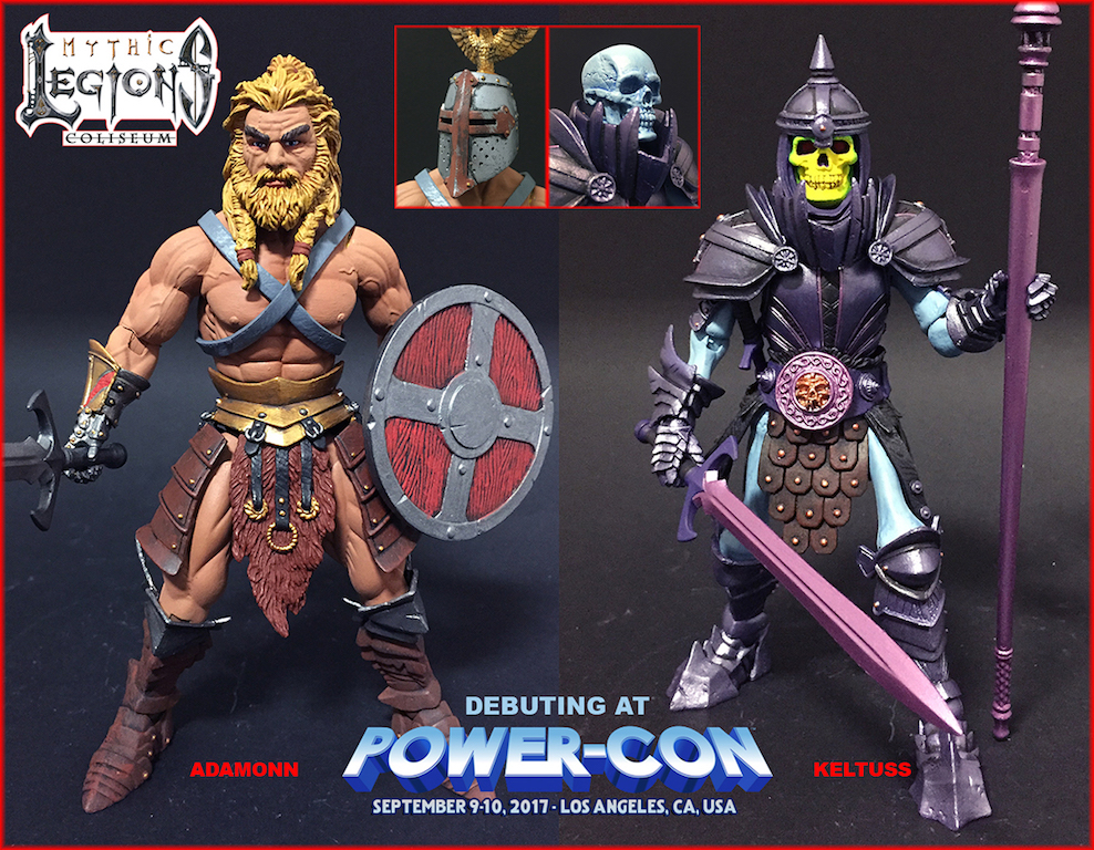 Four Horsemen Studios: New Mythic Legions To Debut At Power-Con