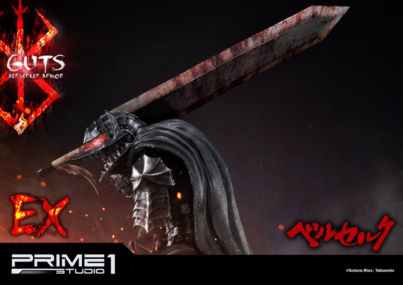 Prime 1 Studio Berserk Guts In Berserk Armor Statue Pre-Orders