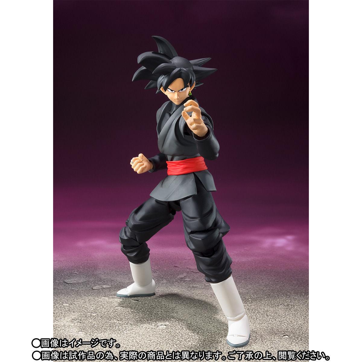 S.H. Figuarts Dragon Ball Z Goku In Black Suit Figure Pre-Orders