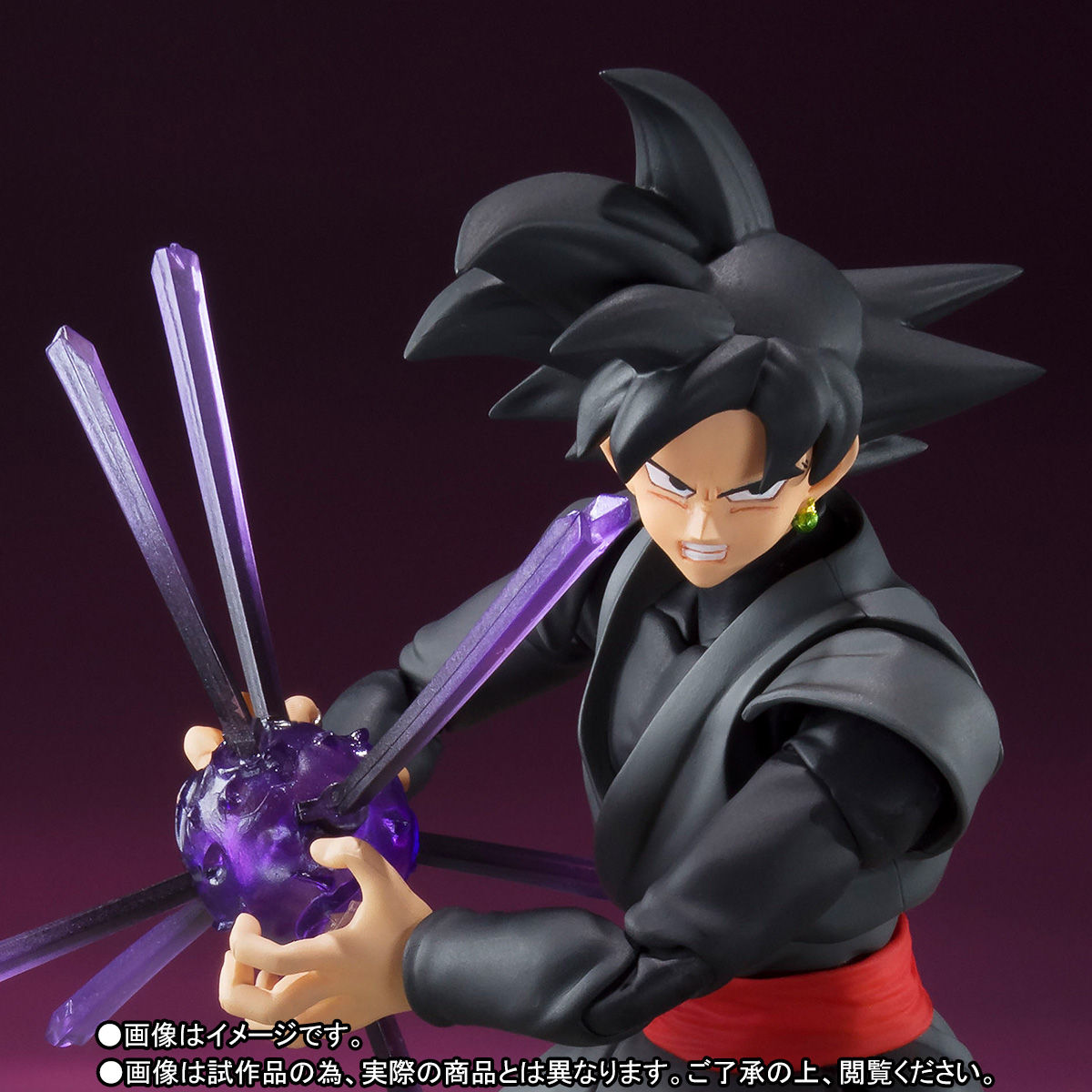 S.H. Figuarts Dragon Ball Super Goku Black Figure Selling Out Everywhere
