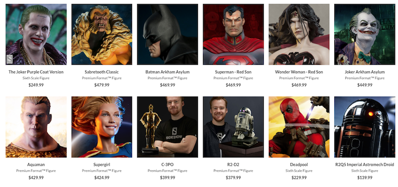 Sideshow Collectibles Celebrates Force Friday II With Free Global Shipping