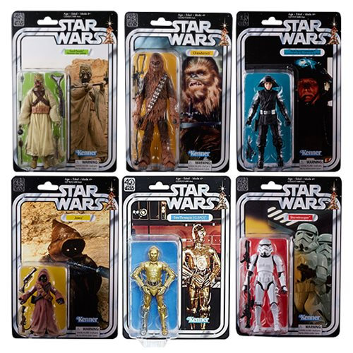 Entertainment Earth: Hasbro Star Wars 40th Anniversary Wave 2 Figures Pre-Orders